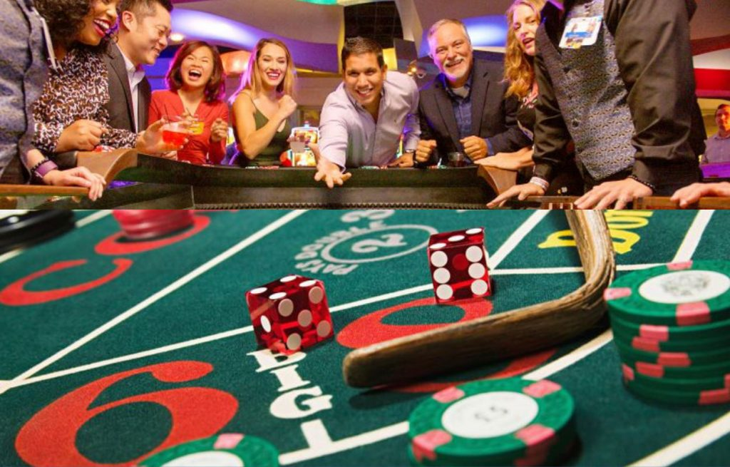 Playing Craps is almost as much fun to watch as it is to play due to its fast pace